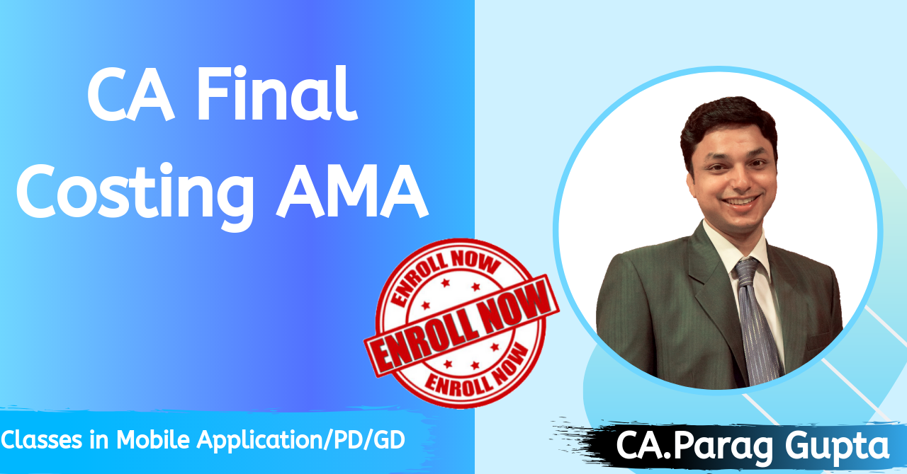 Advanced Management Accounting(AMA)-Old course Costing & O.R