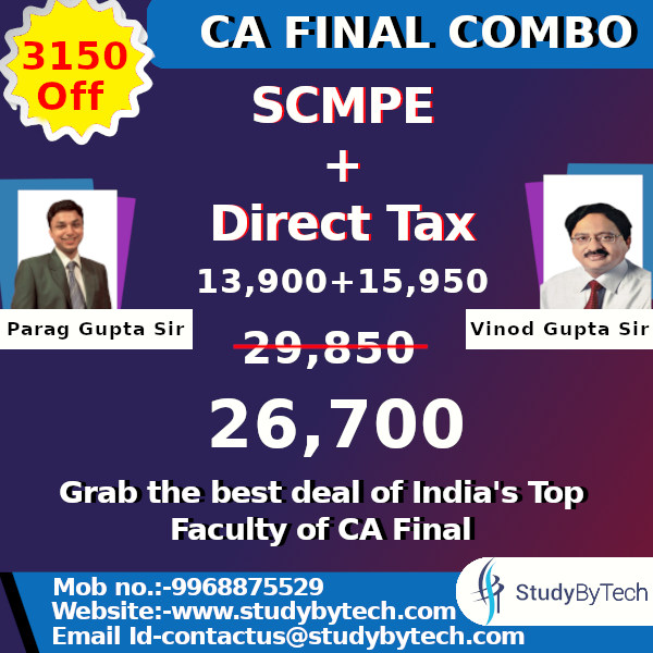 CA Final COMBO for: COSTING & DT CAFinal