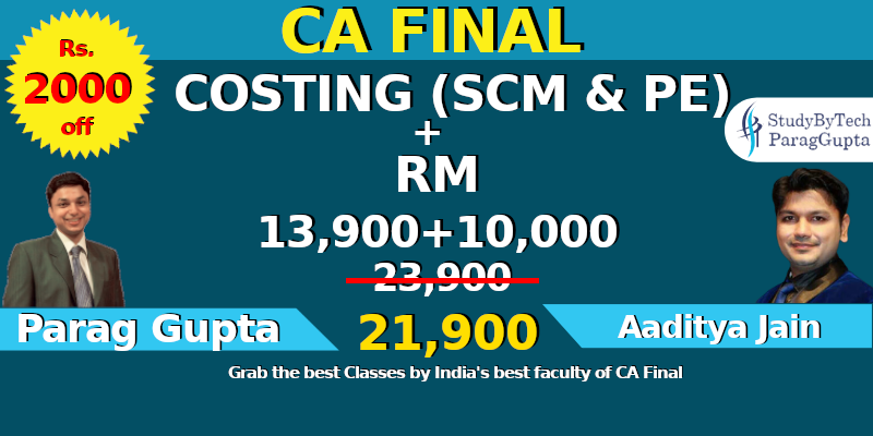 CA Final COMBO for: COSTING & RM CAFinal