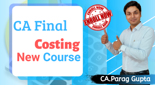 CA Final Costing(New Course)