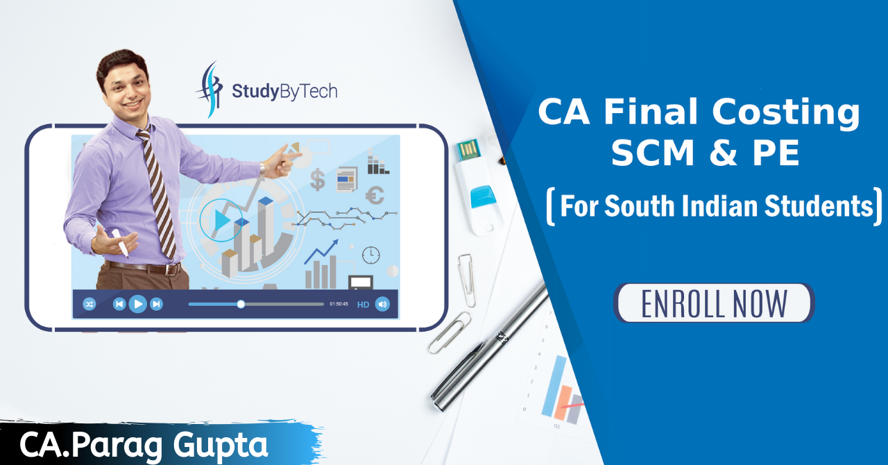 CA Final Costing(New Course)-Batch for South Indian Students